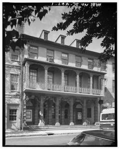 The Dock Street Theatre (Library of Congress)