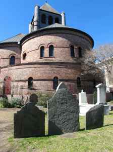 Circular Church, 150 Meeting St. Founded 1681