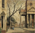 Alfred Hutty, oil (St Philips)