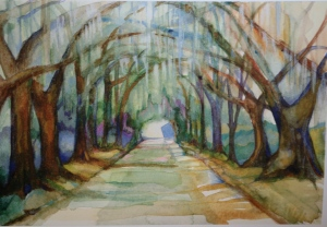 painting by Charlotte Hutson Wrenn ©2011