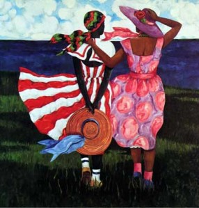 Artist and painter Jonathan Green is represented by Chuma Gallery in Charleston SC