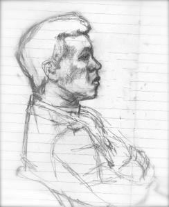 Jonathan Green Gullah Artist portrait by C.Hutson-Wrenn ©2011
