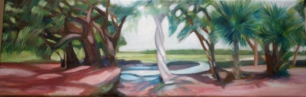 Loving Tree. Original Oil painting by C.Hutson-Wrenn '11