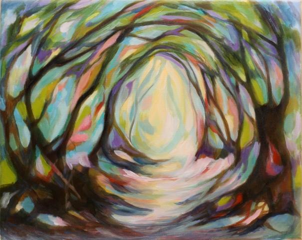original painting by Charlotte Hutson Wrenn ©2012
