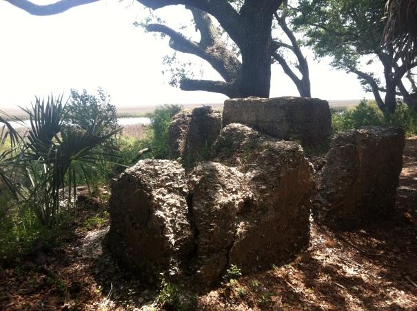 Ruins of Hephzipah Jenkins tabby ovens