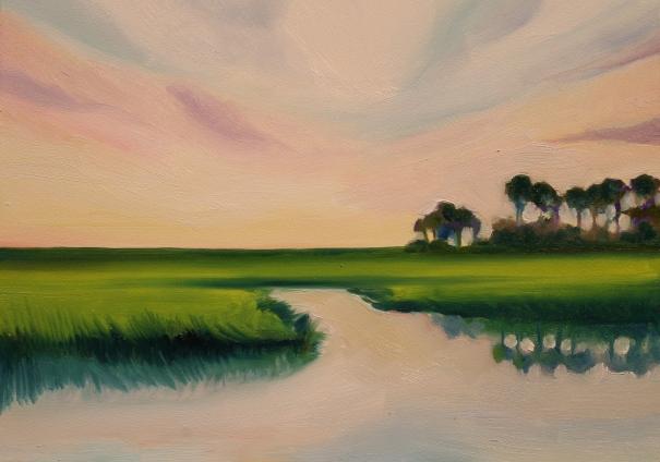 Frampton Creek. Edisto Island, SC. ©2013 C.Hutson Wrenn