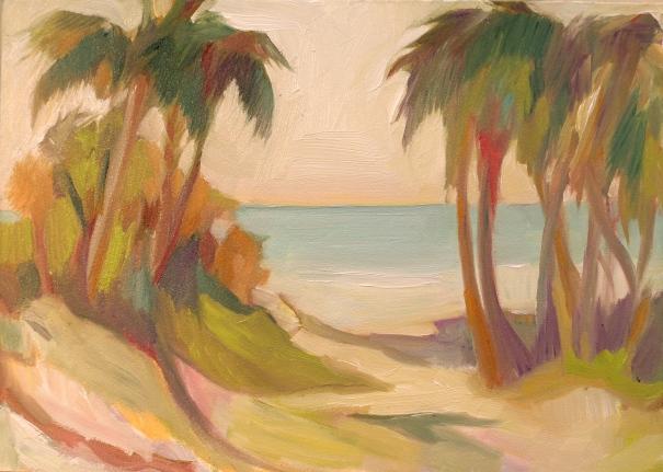 Edisto Beach State Park, a painting. ©2013 C.Hutson Wrenn