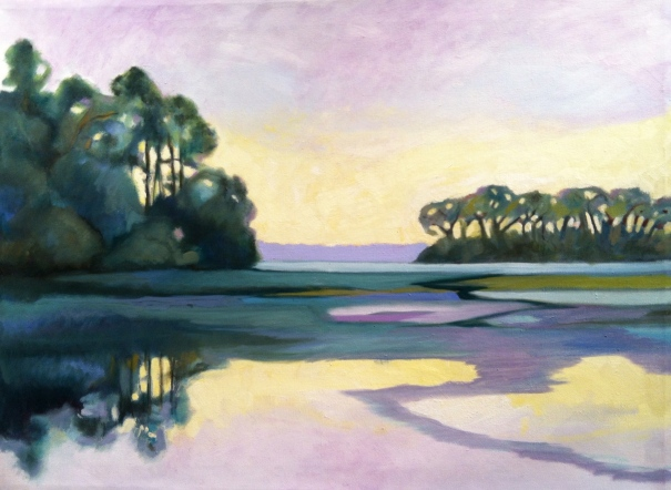 "Edisto Island  24""x 18"" oil on canvas ©2014 C.HutsonWrenn"