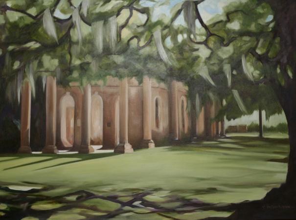 "41""x 30"" oil on canvas ©2014 C.Hutson Wrenn"