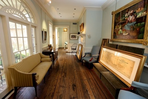 Charleston's Renaissance Gallery, formerly Nat Turner's kitchen